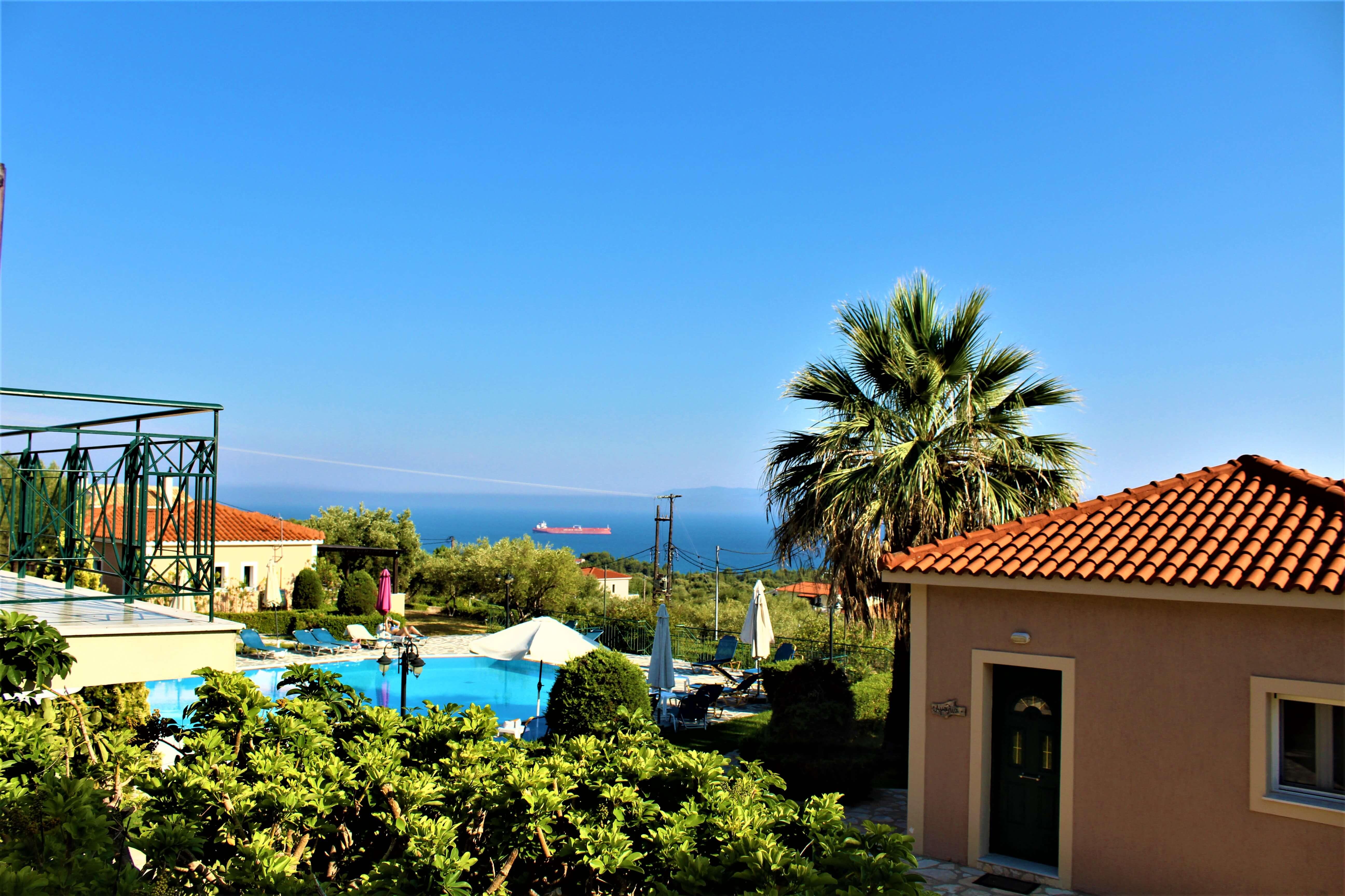 Oneira Villas Kefalonia Balcony view