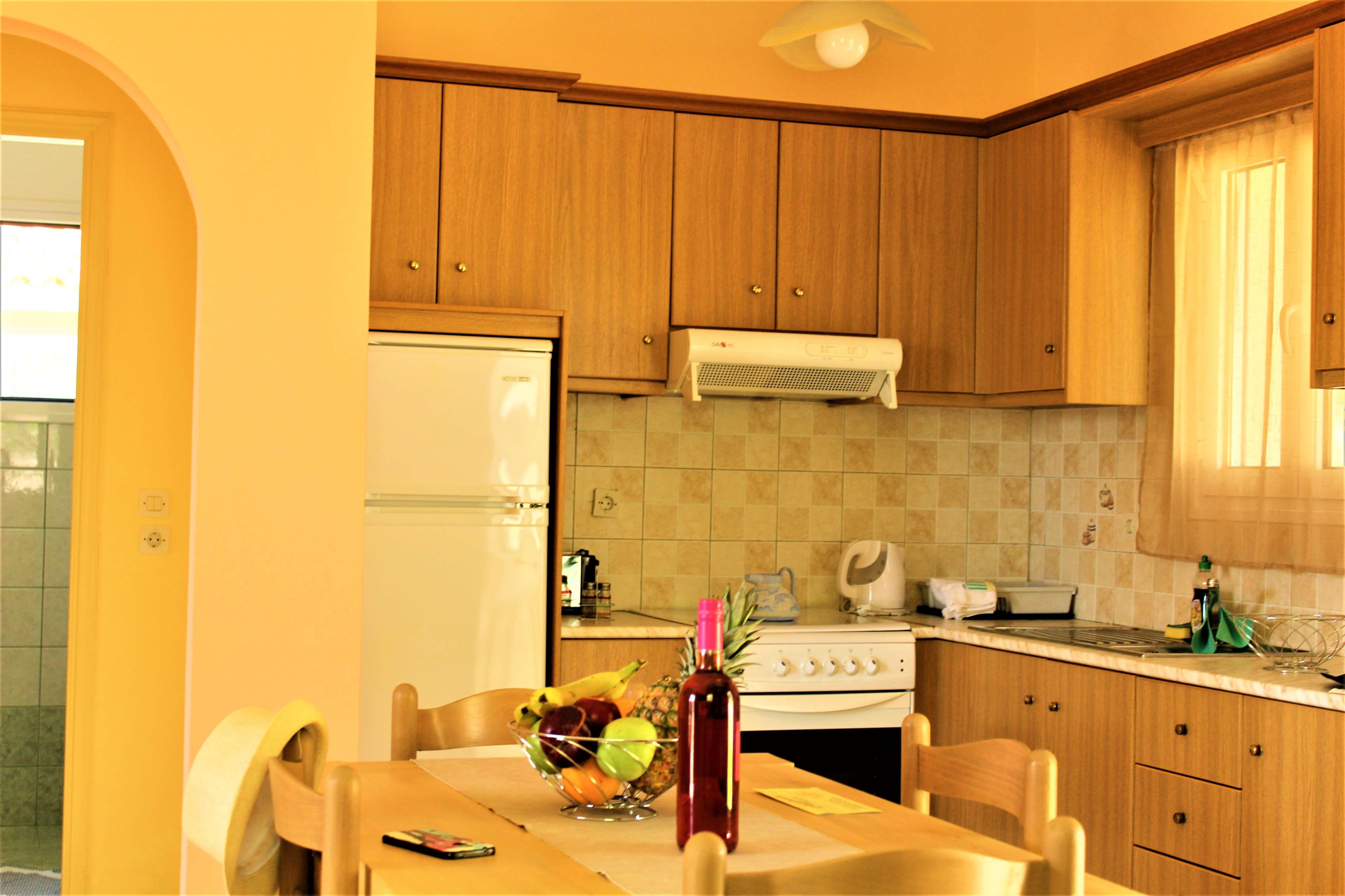Oneira Villas Kefalonia Kitchen
