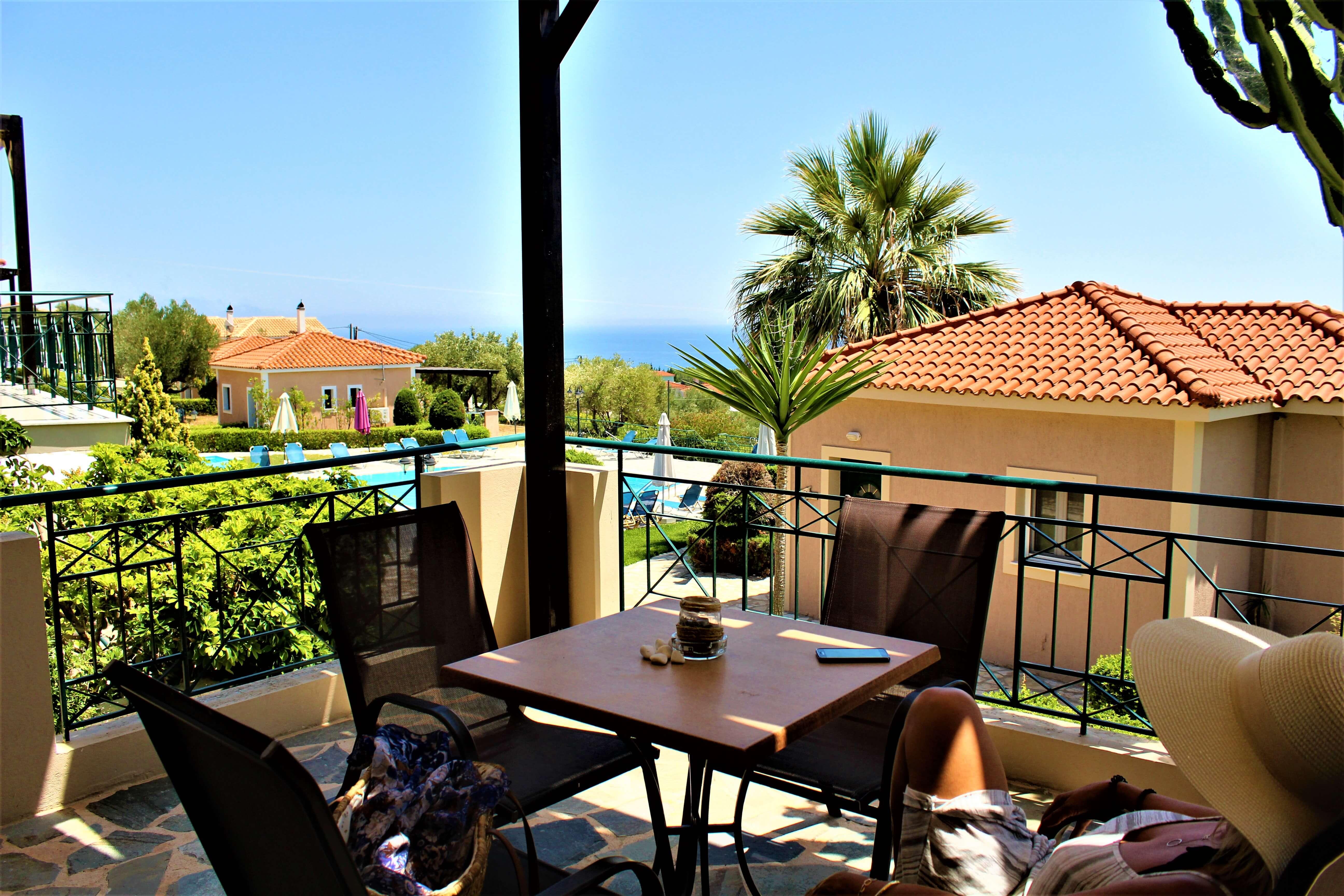 Oneira Villas Kefalonia Balcony