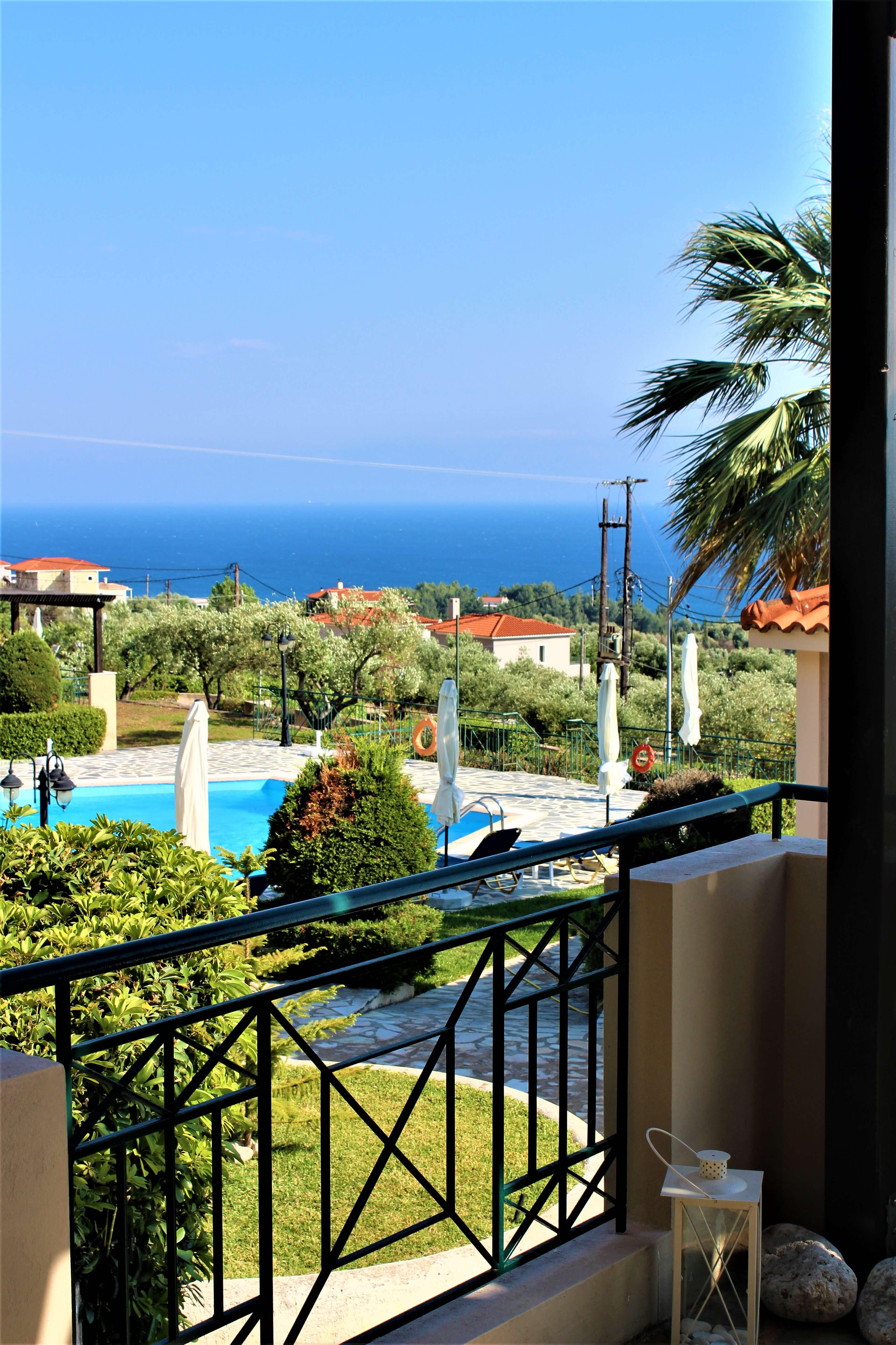 Oneira Villas balcony
