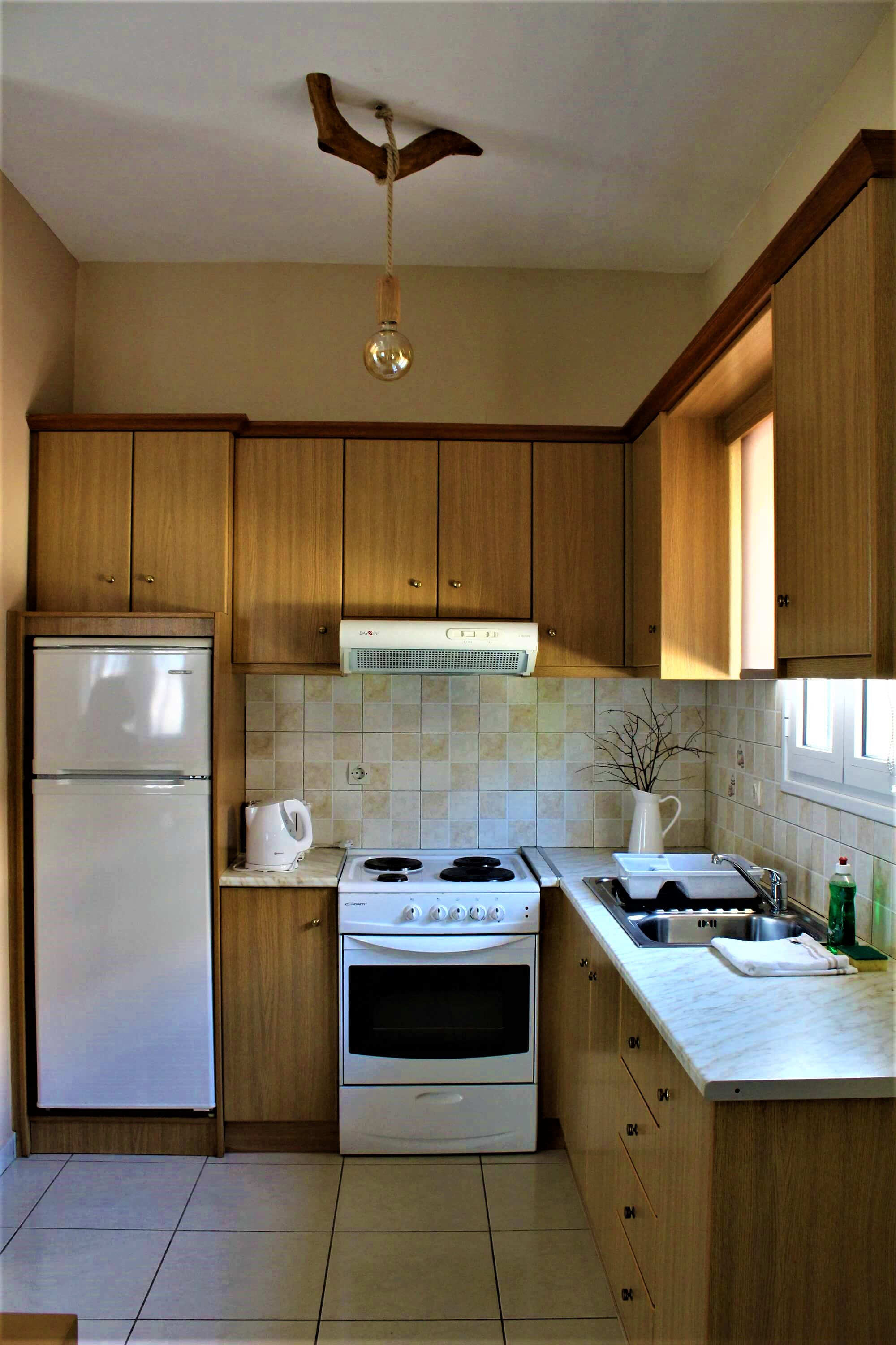 Oneira Villas Kefalonia Kitchen