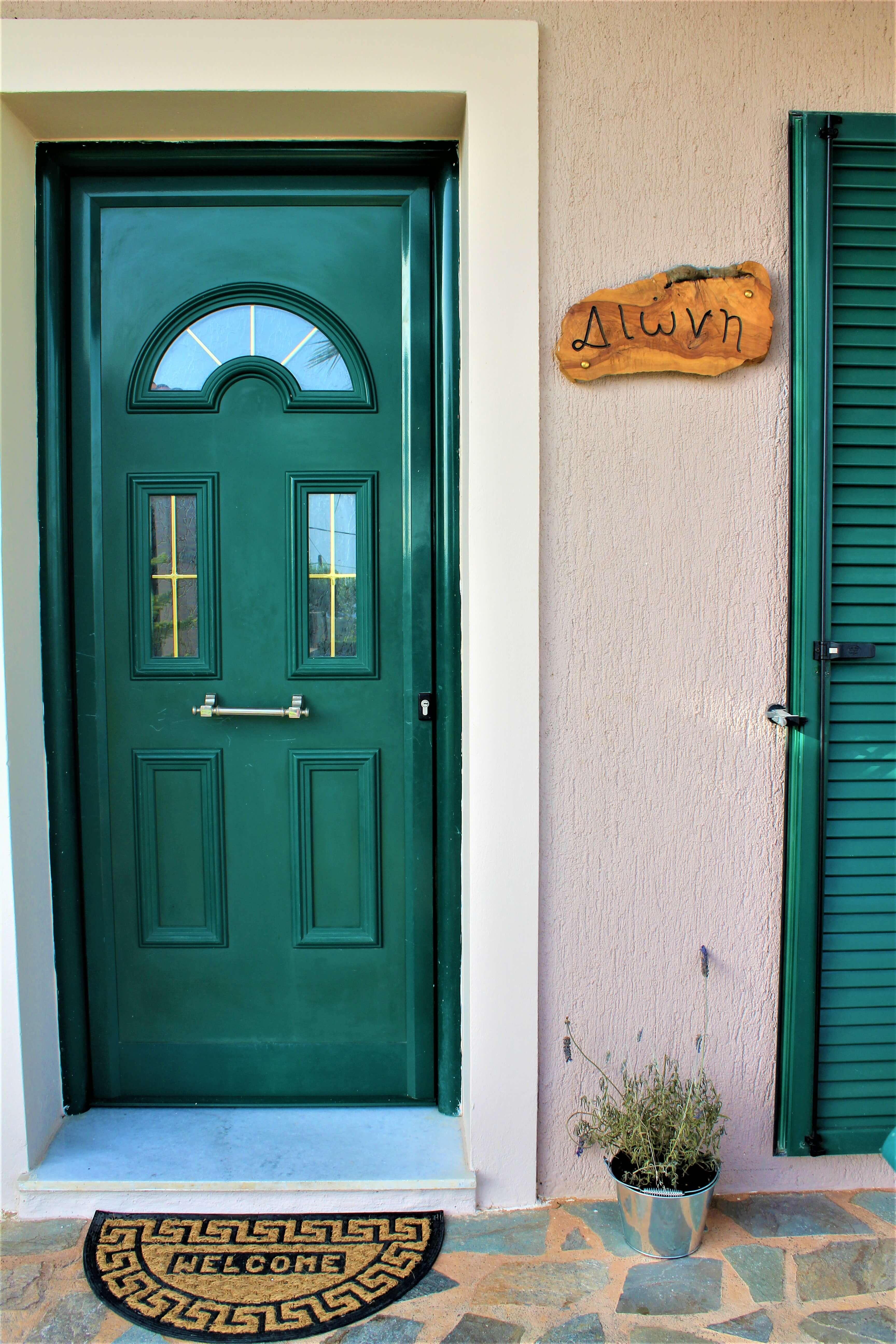 Oneira Villas Kefalonia Entrance